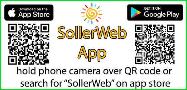 App Store QR Codes for SollerWeb