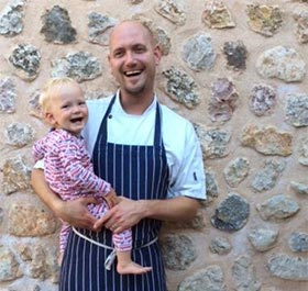 Piers Dawson Private Chef Mallorca Chef a Casa